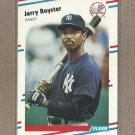 1988 Fleer Baseball Jerry Royster Yankees #221