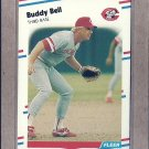 1988 Fleer Baseball Buddy Bell Reds #227