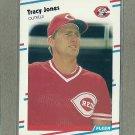 1988 Fleer Baseball Tracy Jones Reds #237