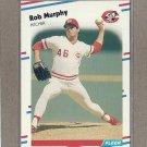 1988 Fleer Baseball Rob Murphy Reds #241