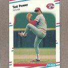 1988 Fleer Baseball Ted Power Reds #245