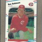 1988 Fleer Baseball Ron Robinson Reds #247