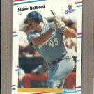 1988 Fleer Baseball Steve Balboni Royals #251