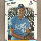1988 Fleer Baseball Bud Black Royals #252