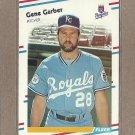 1988 Fleer Baseball Gene Garber Royals #257