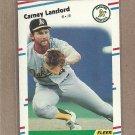 1988 Fleer Baseball Carney Lansford A's #285