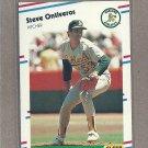 1988 Fleer Baseball Steve Ontiveros A's #289