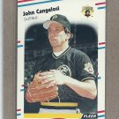 1988 Fleer Baseball John Cangelosi Pirates #325