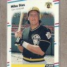 1988 Fleer Baseball Mike Diaz Pirates #326
