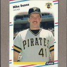 1988 Fleer Baseball Mike Dunne Pirates #328