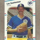1988 Fleer Baseball Lee Guetterman Mariners #374