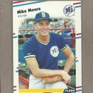1988 Fleer Baseball Mike Moore Mariners 3379