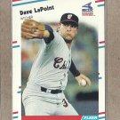 1988 Fleer Baseball Dave LaPoint White Sox #402