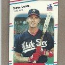 1988 Fleer Baseball Steve Lyons White Sox #405