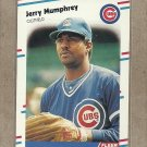 1988 Fleer Baseball Jerry Mumphrey Cubs #427