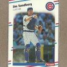 1988 Fleer Baseball Jim Sundberg Cubs #434
