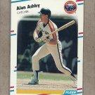 1988 Fleer Baseball Alan Ashby Astros #439