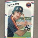 1988 Fleer Baseball Denny Walling Astros #458