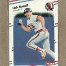 1988 Fleer Baseball Jack Howell Angels #491