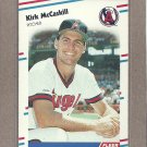 1988 Fleer Baseball Kirk McCaskill Angels #496