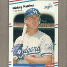 1988 Fleer Baseball Mickey Hatcher Dodgers #516
