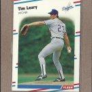 1988 Fleer Baseball Tim Leary Dodgers #521