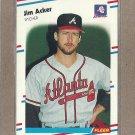 1988 Fleer Baseball Jim Acker Braves #531