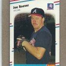 1988 Fleer Baseball Joe Boever Braves #534