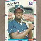 1988 Fleer Baseball Gerald Perry Braves #547