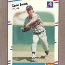1988 Fleer Baseball Zane Smith Braves #550