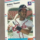 1988 Fleer Baseball Andres Thomas Braves #551