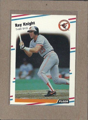 1988 Fleer Baseball Ray Knight Orioles #564