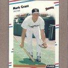 1988 Fleer Baseball Mark Grant Padres #584