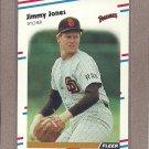 1988 Fleer Baseball Jimmy Jones Padres #588
