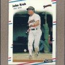 1988 Fleer Baseball John Kruk Padres #589