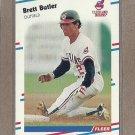1988 Fleer Baseball Brett Butler Indians #603