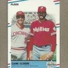 1988 Fleer Baseball Game Closers #627