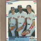 1988 Fleer Baseball Changing the Guard in Boston #630