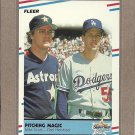 1988 Fleer Baseball Pitching Magic #632