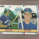 1988 Fleer Baseball Rookies Myers & Tabor #644