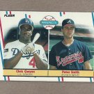 1988 Fleer Baseball Rookies Gwynn & Smith #647