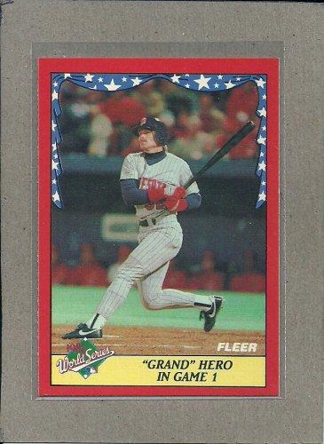 1988 Fleer Baseball World Series #1