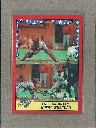 1988 Fleer Baseball World Series #2
