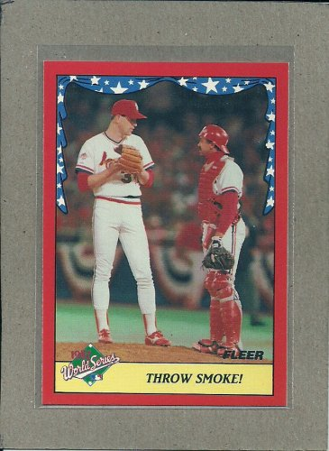 1988 Fleer Baseball World Series #5