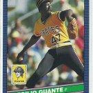 1986 Donruss Baseball Cecilio Guante Pirates #142
