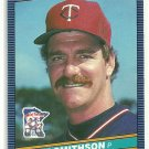 1986 Donruss Baseball Mike Simthson Twins #147