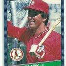 1986 Donruss Baseball Jack Clark Cardinals #168