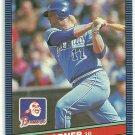 1986 Donruss Baseball Bob Horner Braves #188