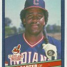 1986 Donruss Baseball Joe Carter Indians #224