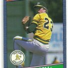 1986 Donruss Baseball Chris Codiroli A's #278